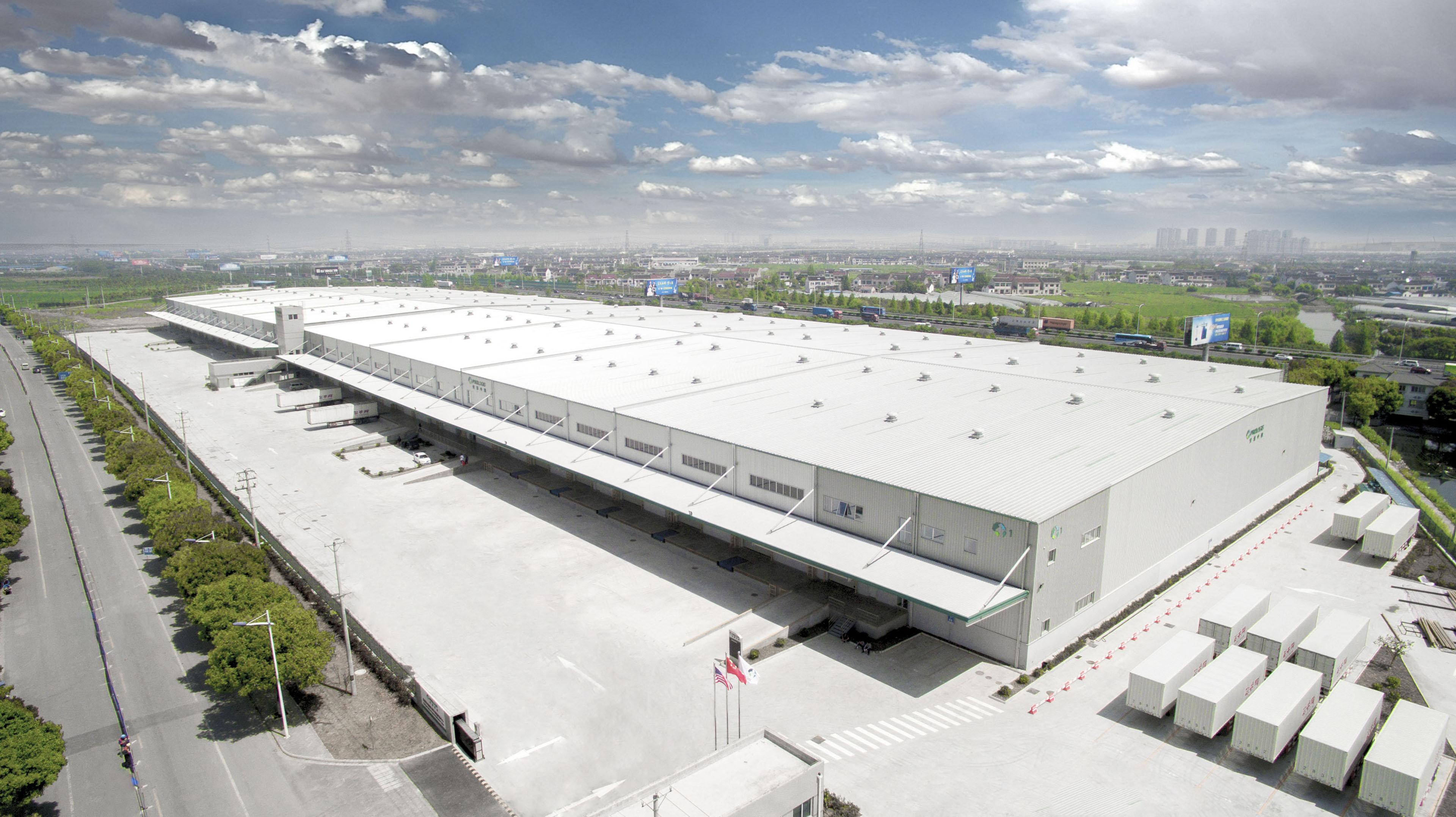 Suzhou Xuguan Logistics Center Prologis China