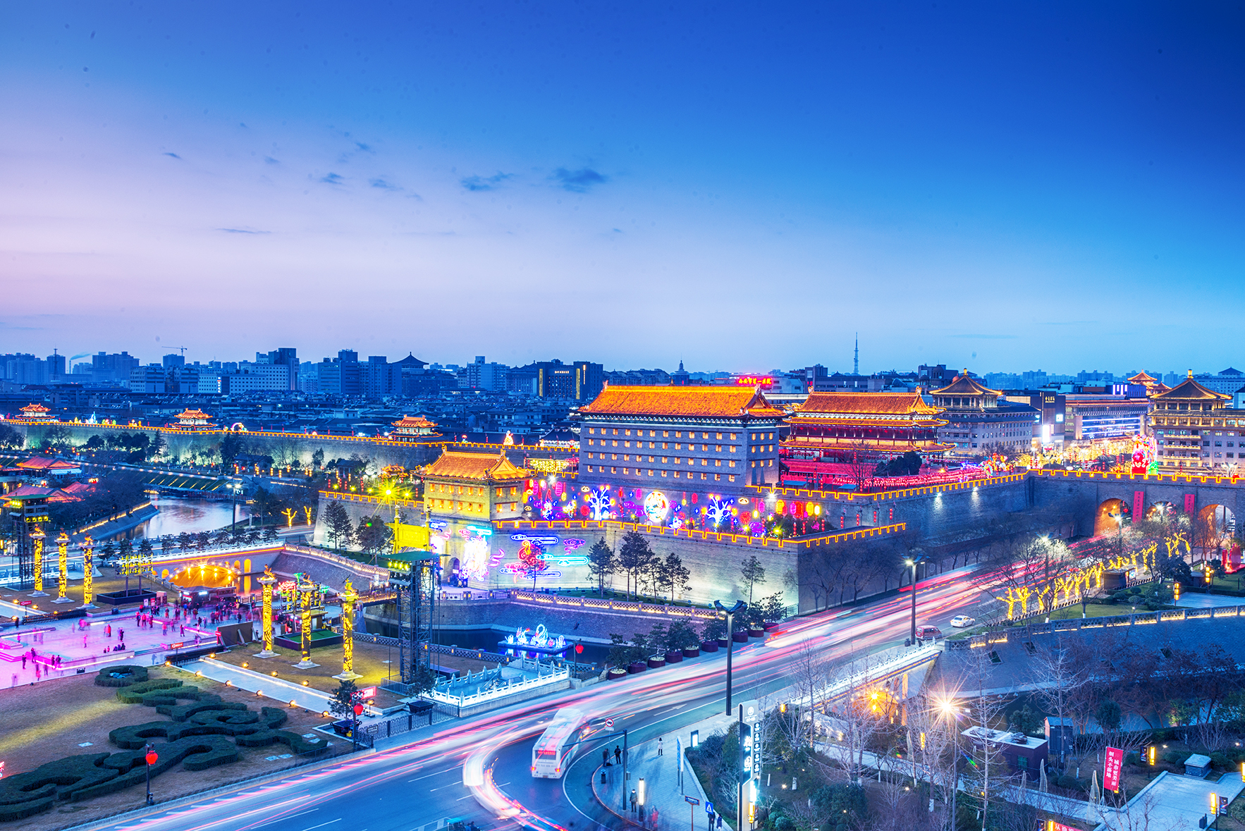 Xian Ancient Capital and Starting Point of Silk Road