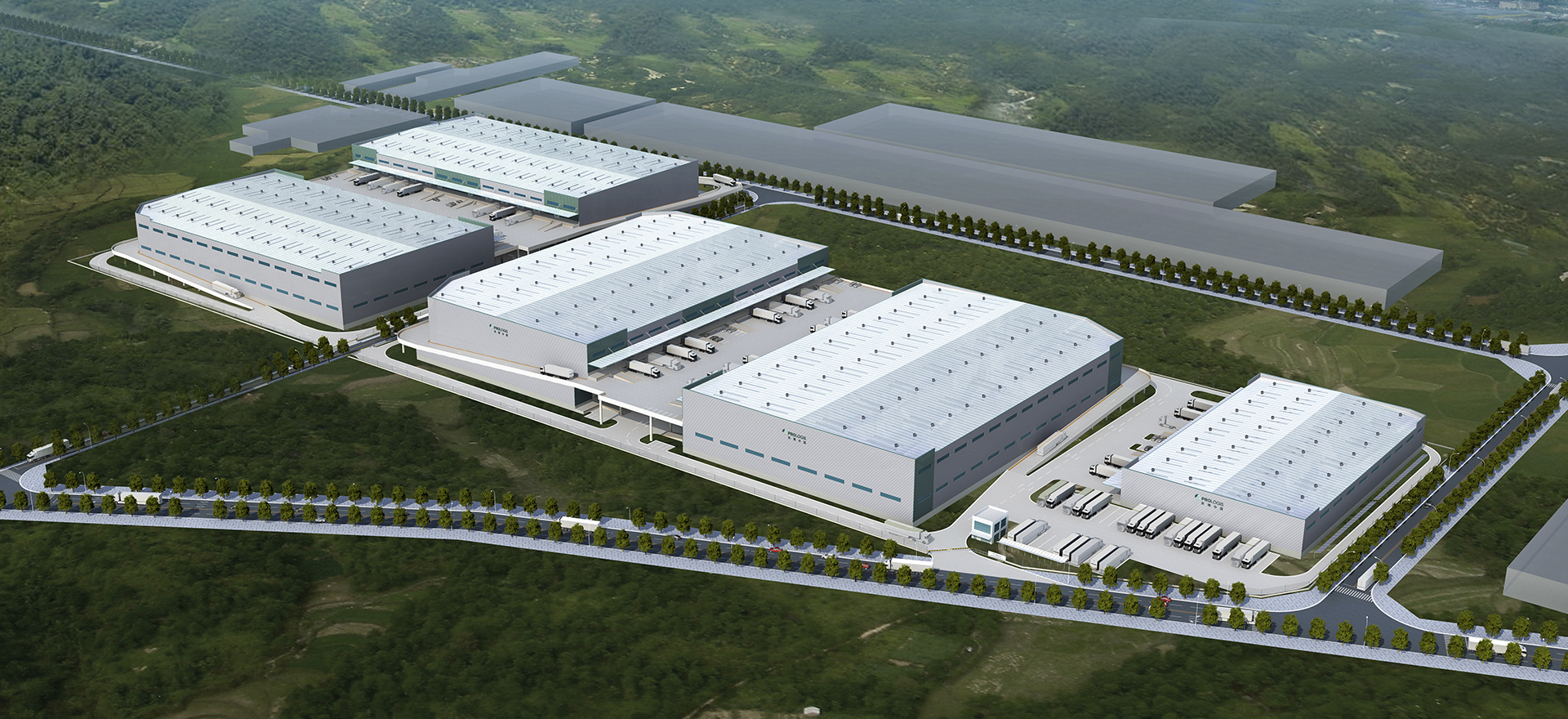 Prologis Foshan Gaoming Logistics Center