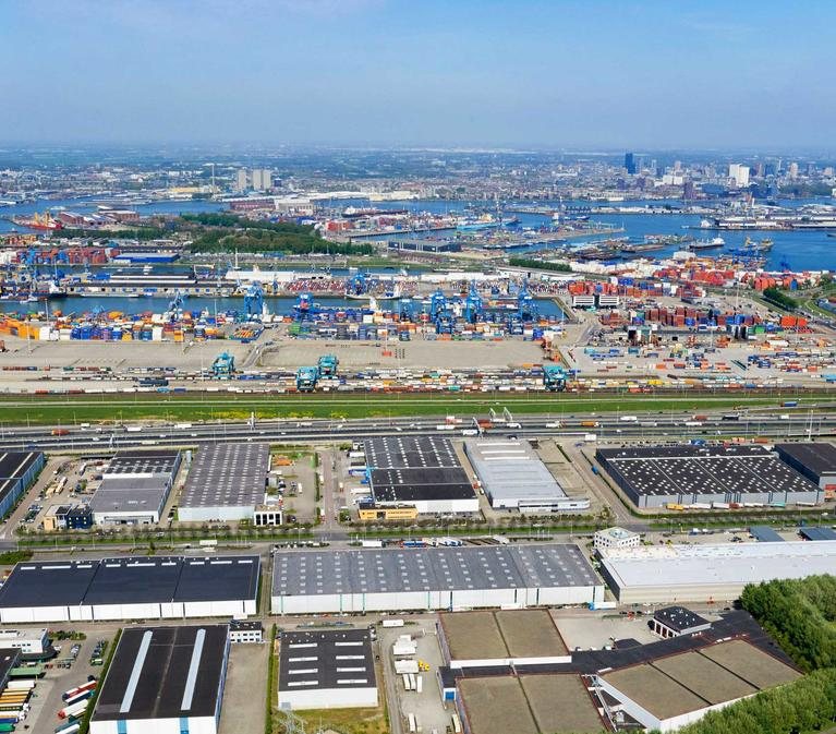 Rotterdam, gateway to Europe's 500+ million consumers, is the continent's largest port.
