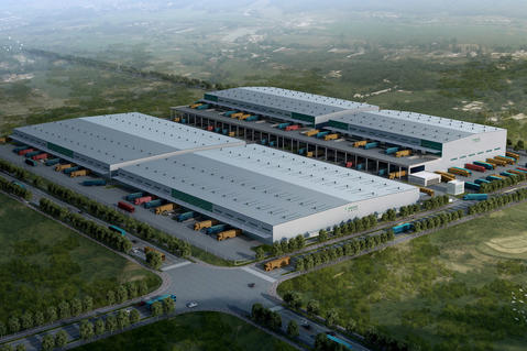 Prologis Wuhan Caidian Logistics Center