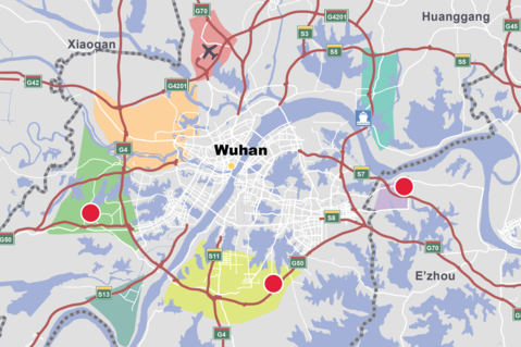 Wuhan chinas domestic trade hub prologis china map prologis wuhan market wuhan china gumiabroncs Image collections