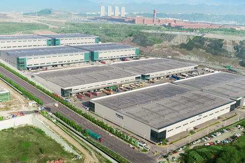 Prologis Chongqing Liangjinag Logistics Center