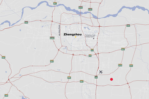 Prologis Zhengzhou Airport Logistics Center-Map
