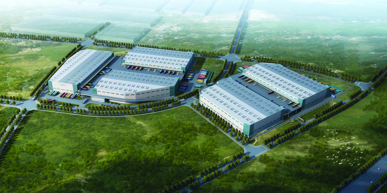 Prologis Wuhan Jiangxia Logistics Center