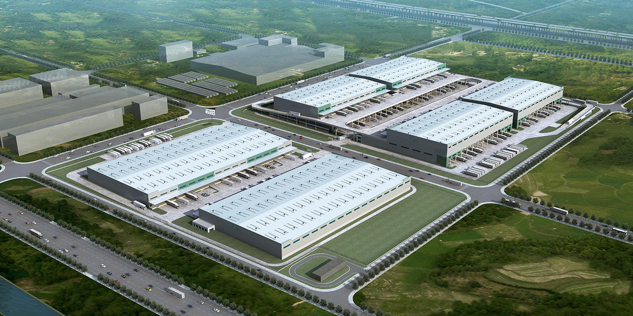 Prologis Tianjin Jinnan Logistics Center